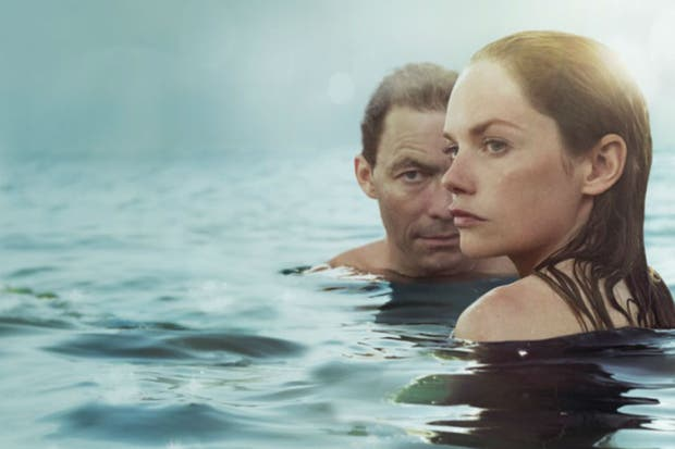 Dominic West y Ruth Wilson en The Affair, la serie de Sarah Treem y Hagai Levi