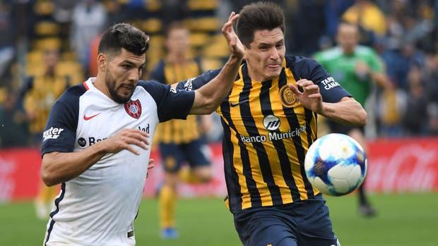 Central y San Lorenzo protagonizaron el primero 0 a 0 de la Superliga