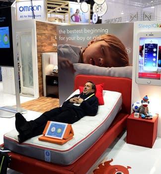 Sleep Number, una cámara que monitorea el estado de sueño del usuario. Foto: EFE