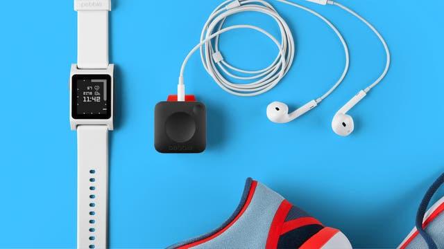 El Pebble Core es un accesorio para dejar en casa el celular al salir a correr