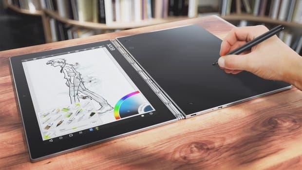 La tableta híbrida Lenovo Book ya está disponible en la Argentina en sus dos versiones, con Android 6 o Windows 10