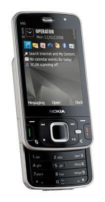 Nokia. El flamante N96, develado la semana última en el Congreso Mundial de Móviles de Barcelona tiene, además de Java, una antena Wi-Fi, para poder acceder a Internet sin gastar