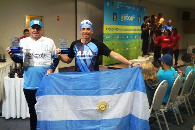 Carlos Balor y Alejandro Barri, posta cien por ciento argentina