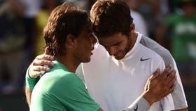Del Potro y Nadal jugaron 13 veces: ocho triunfos para el español y cinco para el argentino
