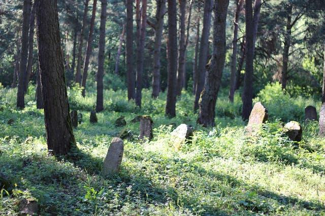 El antiguo cementerio judío de Grodno se inició en el año 1784