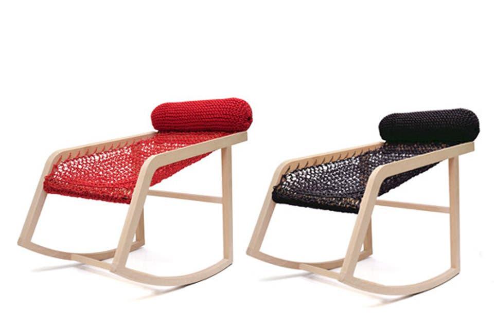 ¿En qué parte de tu casa tendrías una silla mecedora?
