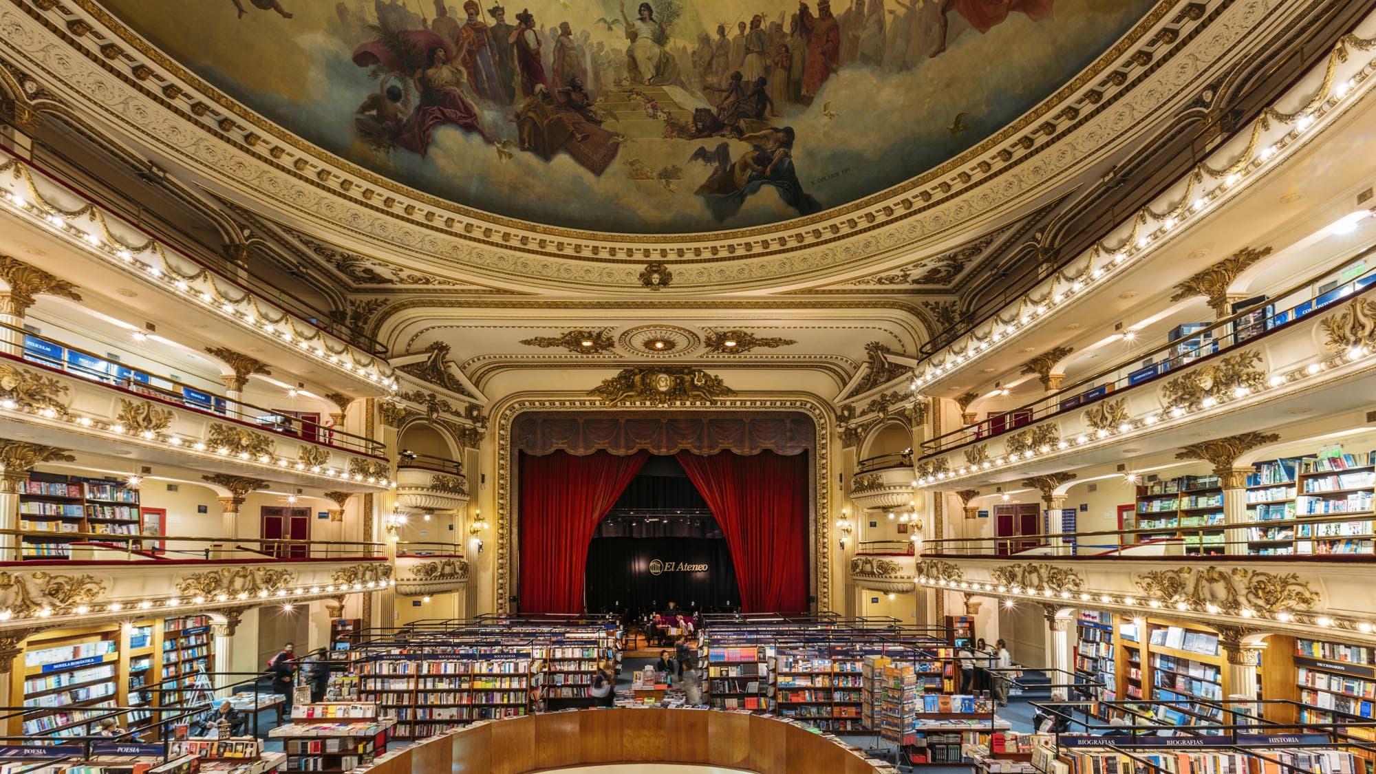 Las 9 bibliotecas más lindas del mundo (y una joya argentina)