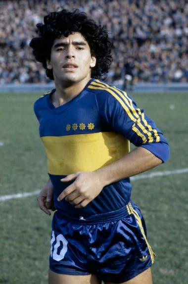 Maradona en Boca 80s