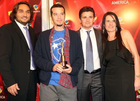 Ortega lideró a los Pells a ser uno de los más ganadores de la noche. Foto: LA NACION / Marcelo Omar Gómez