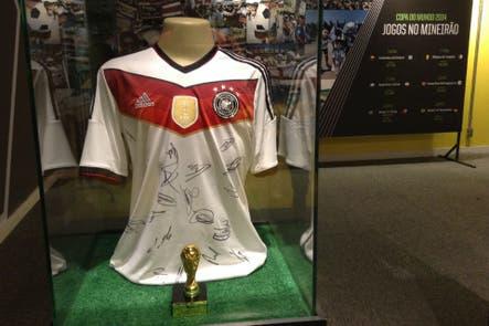 La historia de la camiseta de Alemania que se exhibe en el Mineirao para conmemorar el 7-1