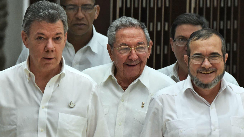 Colombia y las FARC anuncian un acuerdo histórico de paz