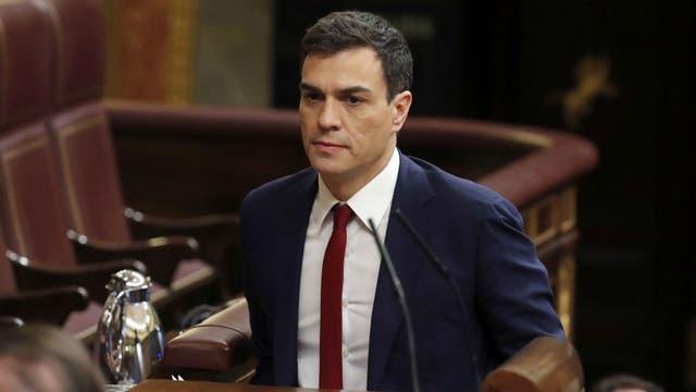 Pedro Sánchez no logró los 176 votos necesarios para formar gobierno