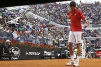 """""""¡No quiero jugar!"""": la discusión de Djokovic con el juez de silla argentino en la final de Roma"""
