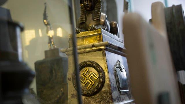 Una de las reliquias nazis