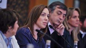 Vidal le respondió a Cristina Kirchner