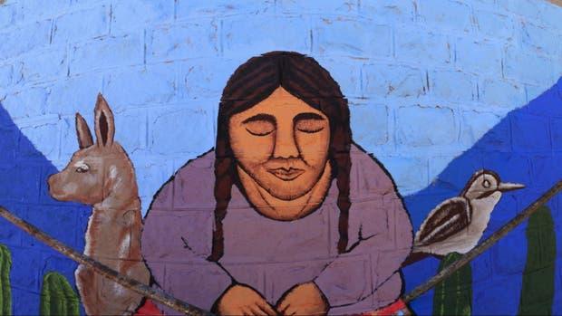 El mural que pintaron los chicos de distintas provincias
