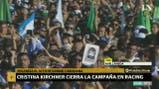 """Cristina Kirchner: """"Un pibe desaparece, nadie se hace cargo y todavía no sabemos donde está Santiago"""