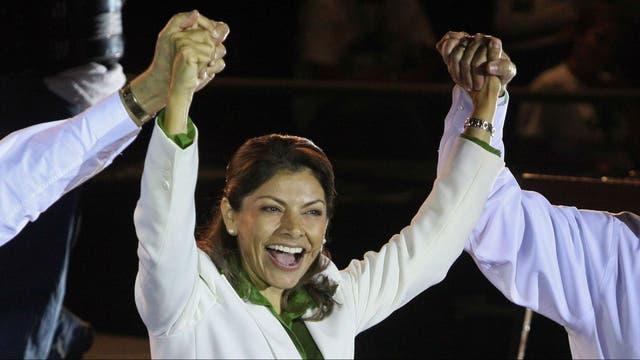 Laura Chinchilla fue la primera mujer en ejercer la jefatura de Estado en Costa Rica