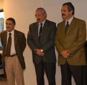 Marcelo Rossi, Javier de Urquiza y Gerardo Nieto, tres ex funcionarios