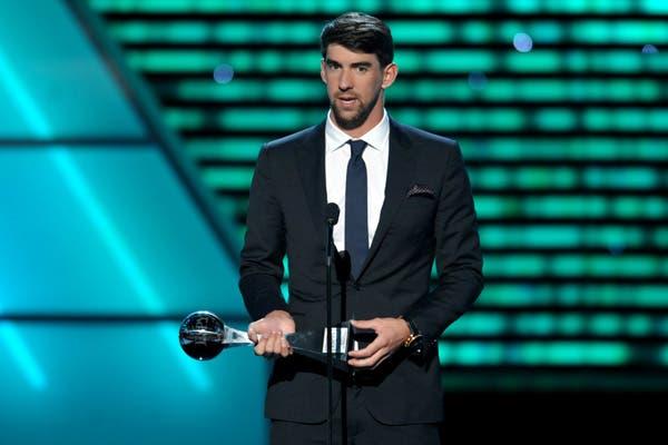 Phelps, otro premiado.