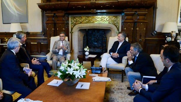 Mauricio Macri se reunió ayer con Pawan Munjal, CEO de Hero Motocorp.