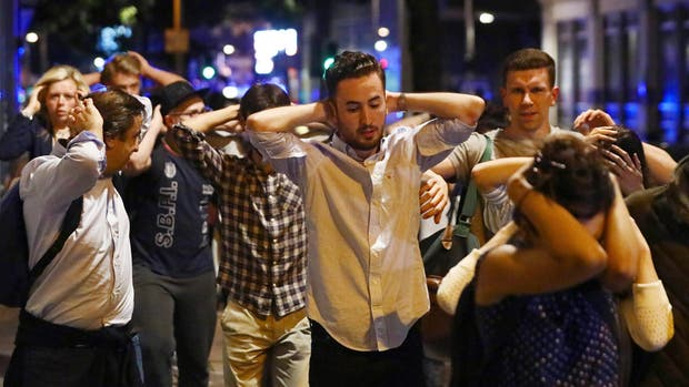 Londres sufrió tres ataques la noche del sábado