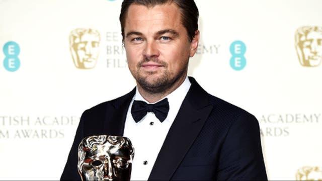 Leonardo DiCaprio y su primer BAFTA