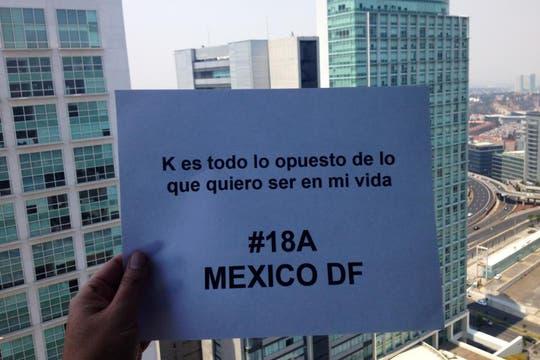 México, D. F.. Foto: Facebook / Santiago Codiani