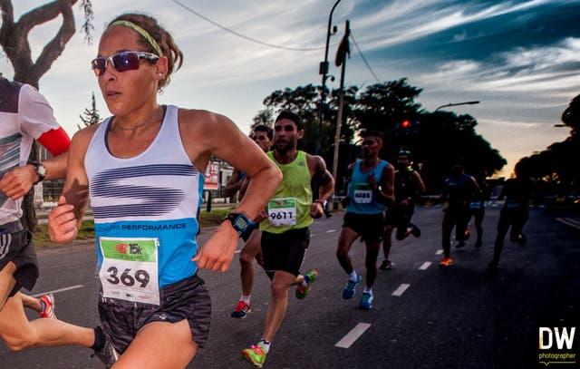 María Luz Tesuri, la mujer más rápida
