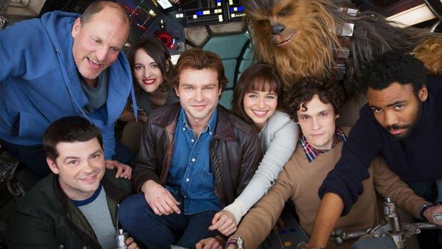 Filtran las primeras imágenes del set y su protagonista — Han Solo