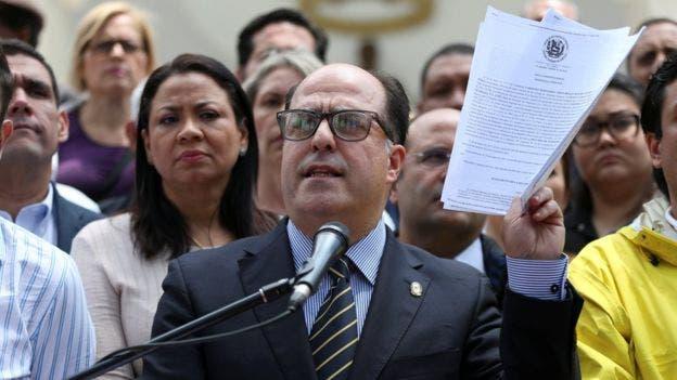 El presidente de la Asamblea Nacional, Julio Borges, anunció que convocarán a movilizaciones callejeras