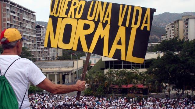La Marcha del Silencio se realizó por las víctimas de la ola de violencia en Venezuela