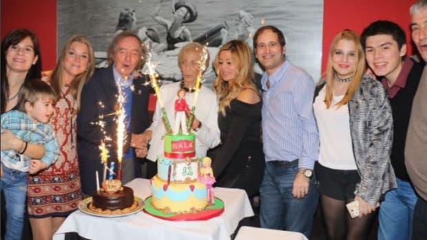 Carlitos Balá cumple 92 años