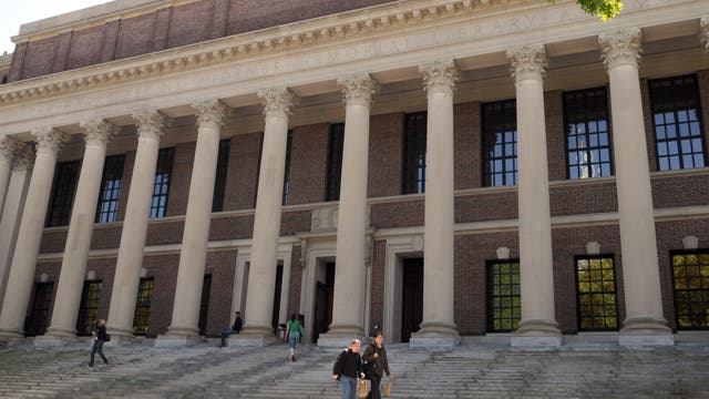 La prestigiosa Universidad de Harvard, símbolo de élite y de tradición