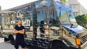 El food truck que trabaja para Trump