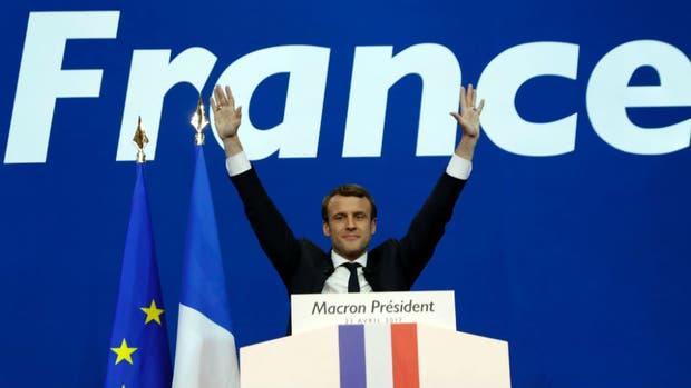 Emmanuel Macron puede convertirse en el presidente más joven de Francia