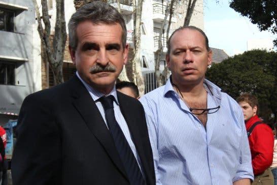El incómodo momento de Sergio Berni y Agustín Rossi en Rosario: ¿Qué vienen a hacer política acá?