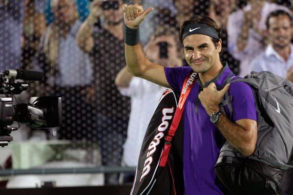 Roger brilló en Argentina