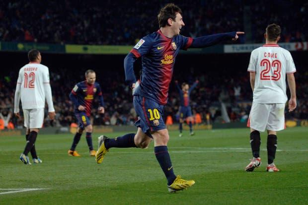 Messi volvió a convertir y Barcelona volvió a sonreir