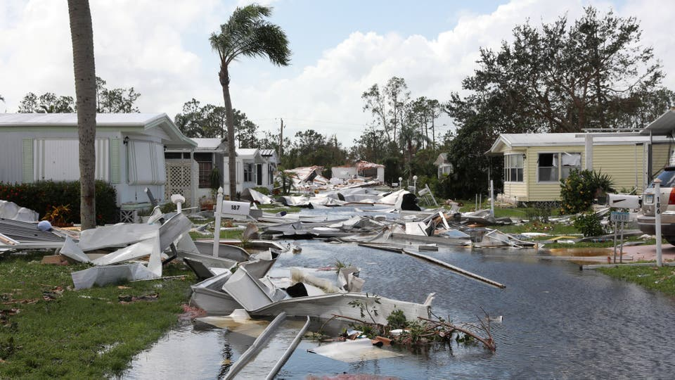 Irma dejó como saldo varios muertos y cuantiosas perdidas metariales. Foto: Reuters