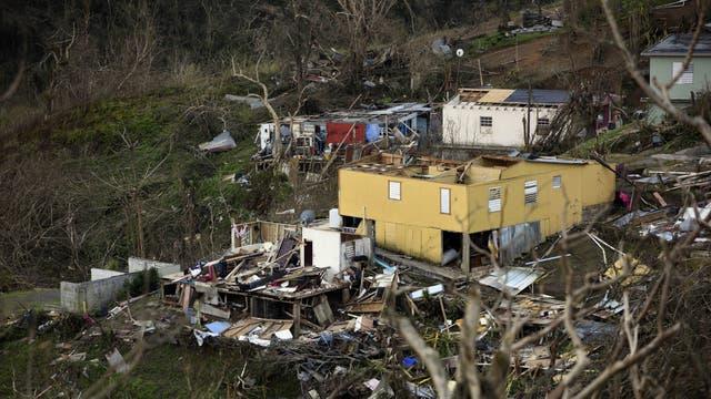 El barrio de Coamo quedó destruido. Foto: DPA/ Carol Guzy