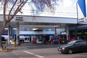 Una estación de servicio de YPF