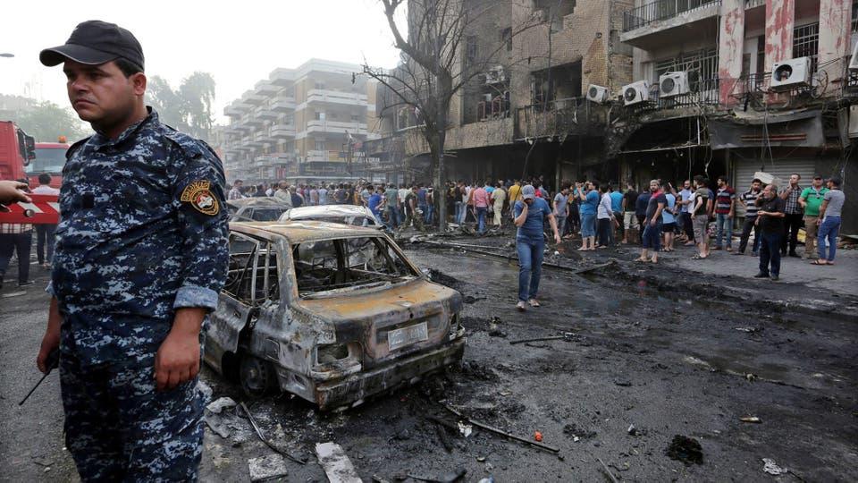 El primer ministro, Al Abadi, prometió castigar a las bandas terroristas que perpetraron el atentado. Foto: EFE