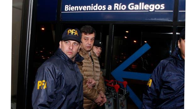 Así fue trasladado el contador de la familia Kirchner a Comodoro Py