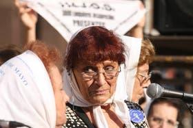 Nora Cortiñas volvió a cuestionar el ascenso de Milani