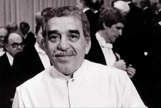 En 1982, al recibir el premio Nobel.
