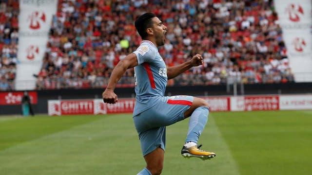 Falcao, figura en la goleada de Monaco ante Dijon
