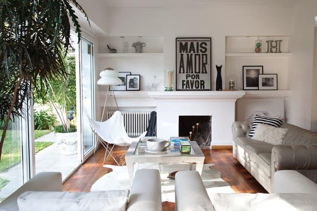 La silla BFK es un comodín que puede ir de un rincón a otro cuando se la necesite.  /Archivo LIVING