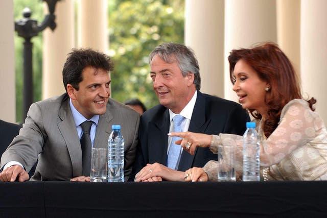 Con los Kirchner cuando dirigía la Anses