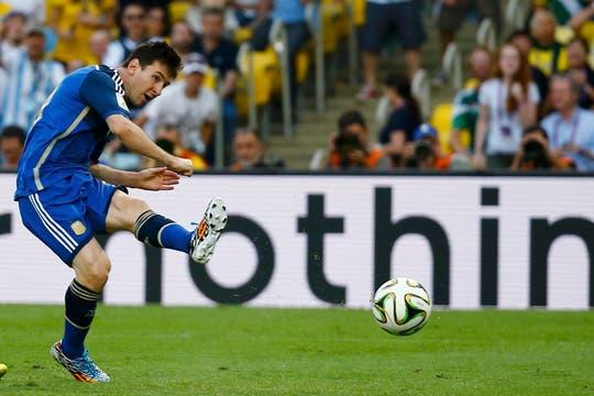 La Argentina perdió con Alemania 1-0 en la final. Foto: Reuters